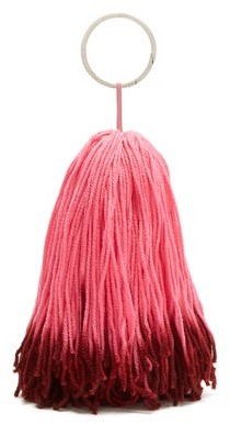 Calvin Klein Wkaa14 Tassel Belt Charm - Womens - Pink Multi