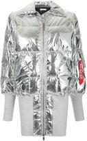 Christian Dada oversized puffer jacket
