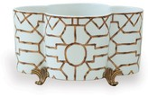 The Well Appointed House Scalamandre Baldwin Quatrefoil Planter