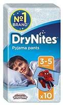 Huggies 3-5 years DryNites for Boys 10 per pack - Pack of 4