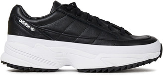 adidas Quilted Leather Platform Sneakers