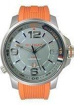 Tommy Hilfiger Classic Silicone - Orange Men's watch #1791011