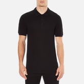 Versace Collection Shoulder Detail Polo Shirt Nero