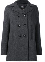 A.P.C. double breasted coat