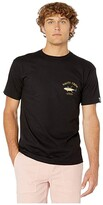 Salty Crew Ahi Mount Short Sleeve Tee (Black) Men's Clothing