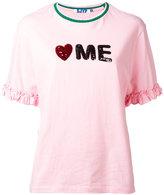 Sjyp slogan T-shirt