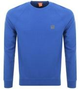 BOSS ORANGE Wheel Sweatshirt Blue