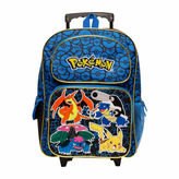 Pokemon 16 Rolling Backpack- Boys One Size