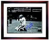 Steiner Sports Y.A. Tittle Autographed 'Agony of Defeat Blood' Photo Frame