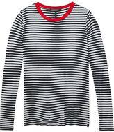Scotch & Soda Striped T-Shirt With Contrast