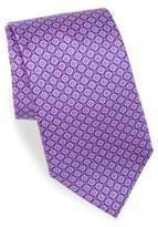 Canali Print Silk Tie