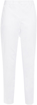 MICHAEL Michael Kors Stretch-cotton Tapered Pants