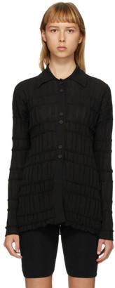 RUS Black Reflet Cardigan