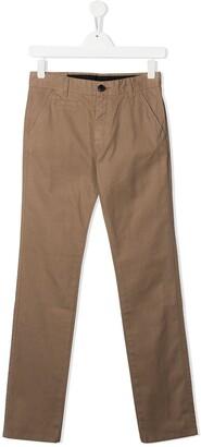 Sun 68 Kids TEEN slim-fit chino trousers