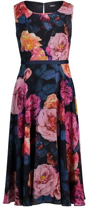 Vera Mont Floral midi dress