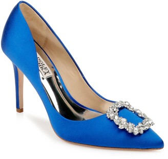 Badgley Mischka Collection Cher Crystal Embellished Pump