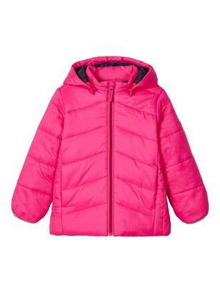 Name It Girls' NMFMABAS Jacket PB Quilted