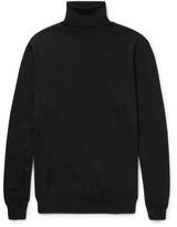 Jil Sander Wool and Silk-Blend Rollneck Sweater