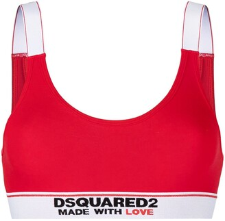 DSQUARED2 Made With Love cotton bra