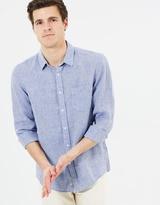 Sportscraft Long Sleeve Linen Shirt