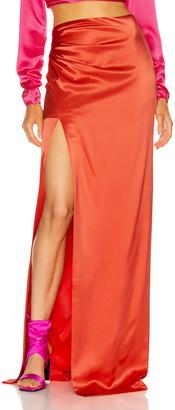 Cinq à Sept Kaitlyn Skirt in Pomelo Red | FWRD