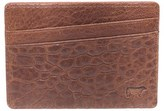 Will Leather Goods Men's 'Quip' Leather Card Case - Black