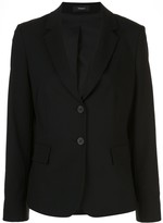 Theory Carissa structured shoulder blazer