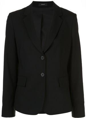 Theory Carissa structured shoulder blazer