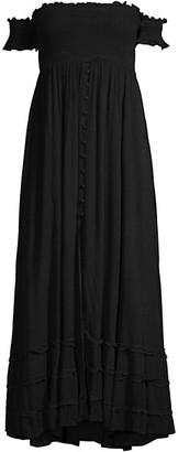 PQ Midnight Mishell Off-the-Shoulder Dress