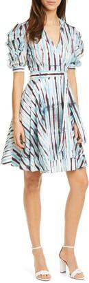 Diane von Furstenberg Indra Cotton Poplin Wrap Dress