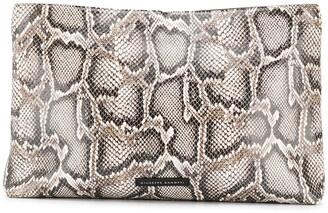 Giuseppe Zanotti snake print clutch