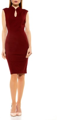 Alexia Admor Amelia Cap Sleeve Sheath Dress