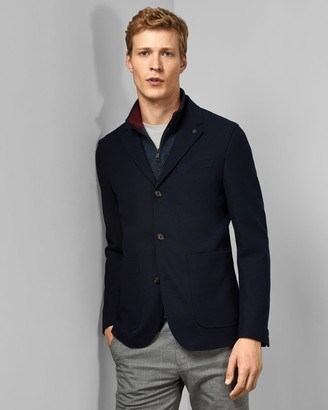 Ted Baker Jersey Jacket With Removable Inner
