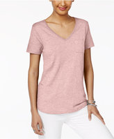 Style&Co. Style & Co Pocketed T-Shirt, Only at Macy's