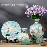 JHDH2 European Style HandPainted Ceramic Vase Decoration Three Sets Of Handicrafts,Ten