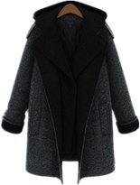 Yinhan YH Winter Hooded Md-long Coat Plus Size Thicken Parka-L