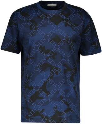 Valentino Camo cotton T-shirt