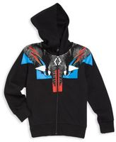 Marcelo Burlon County of Milan Little Boy's & Boy's Lion Graphic Hooded Sweatshirt