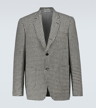 Thom Browne Houndstooth tweed blazer