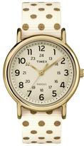 Timex Women's Weekender Polka Dot Reversible Watch - TW2P66100JT