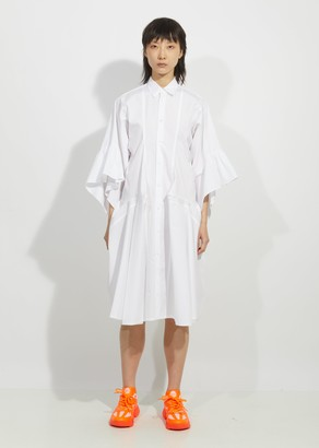 Junya Watanabe Cotton Broad Button Down Dress