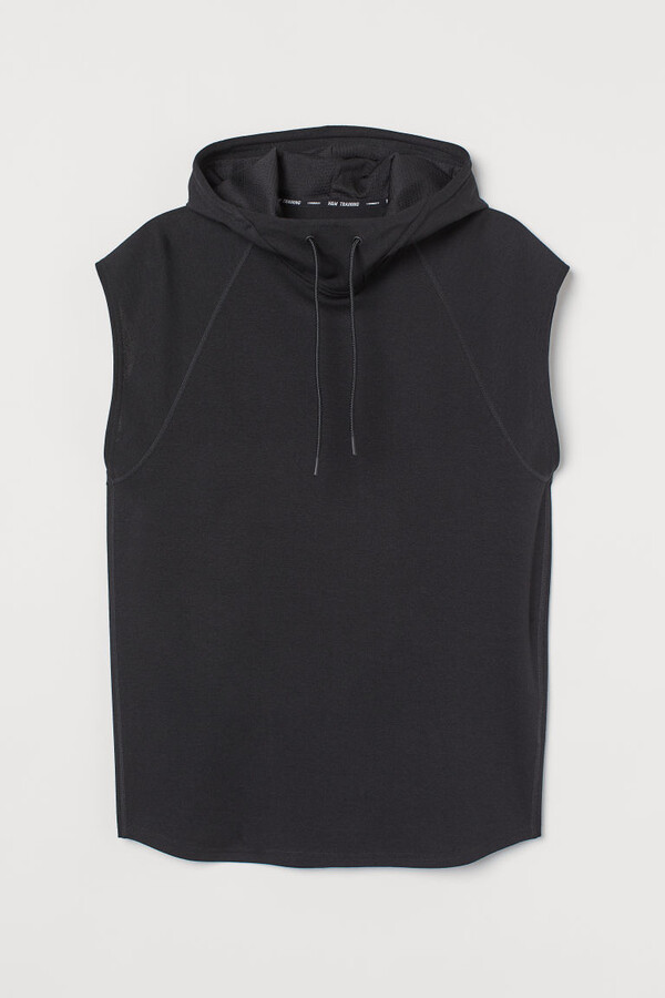 Thumbnail for your product : H&M Relaxed Fit Sports Hoodie - Black