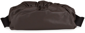 Bottega Veneta Men's Ruched Leather Pouch Bag