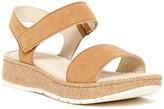 Børn Petula Corda Washed Platform Sandal