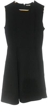 Miu Miu Black Viscose Dresses