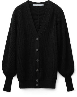Collection Engineered V-Neck Cardigan