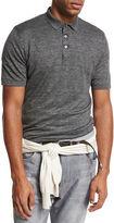 Brunello Cucinelli Linen-Cotton Polo Shirt