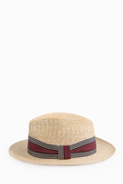 Grevi Hard Banner Straw Hat