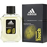 adidas INTENSE TOUCH by EDT SPRAY 3.4 OZ (DEVELOPED WITH ATHLETES) for MEN ---(Package Of 6)
