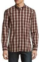 Victorinox Cotton-Blend Plaid Shirt
